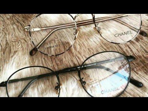a5071eafd نظارات دائرية 2018 الشفافة والشمسية بجميع الالوان - YouTube