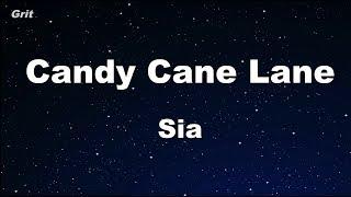 Candy Cane Lane - Sia Karaoke 【No Guide Melody】 Instrumental