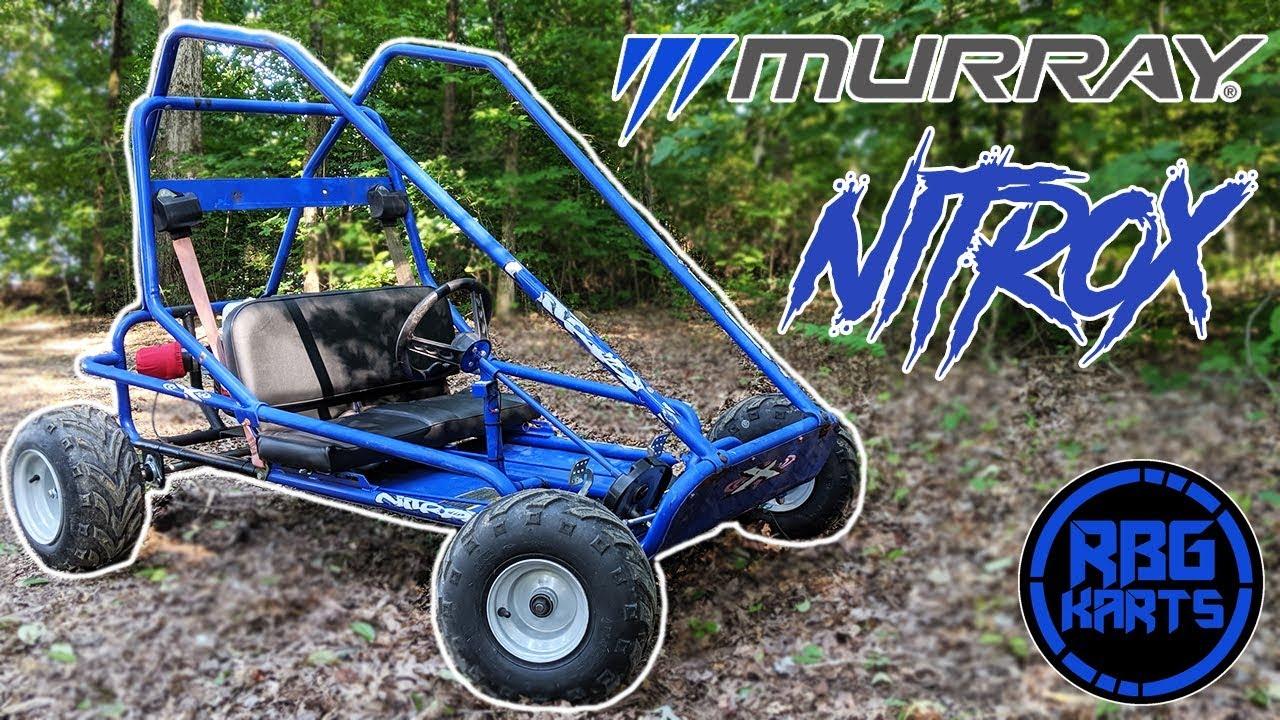 Murray Nitrox Go Kart Rebuild - Самые лучшие видео