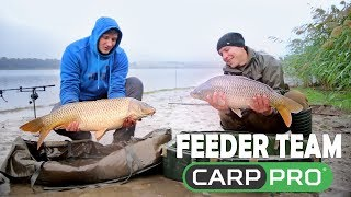 Feeder Team Carp Pro.Ловля крупного карпа осенью.