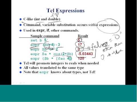 Mod-04 Lec-23 Programming Using Tcl/Tk-I