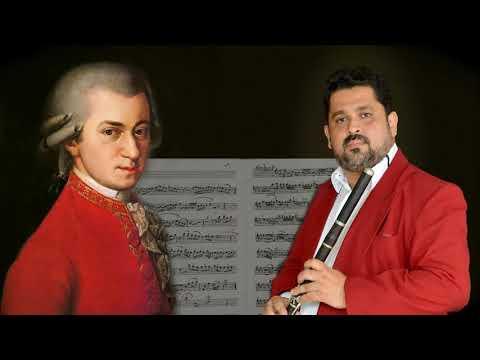 JAMES STRAUSS - W.A. Mozart - Flute Concerto in G K.622g : III Rondo