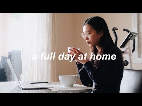 A Day In The Life At Home (what I Eat, Routine, Skincare)