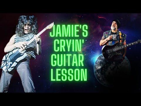 How to play Van Halen Jamie's Cryin' on guitar