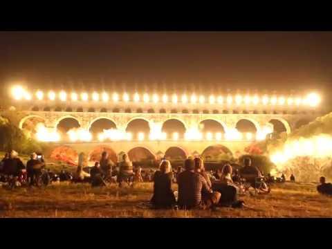 Les Feeries Du Pont Du Gard 2017 Hd
