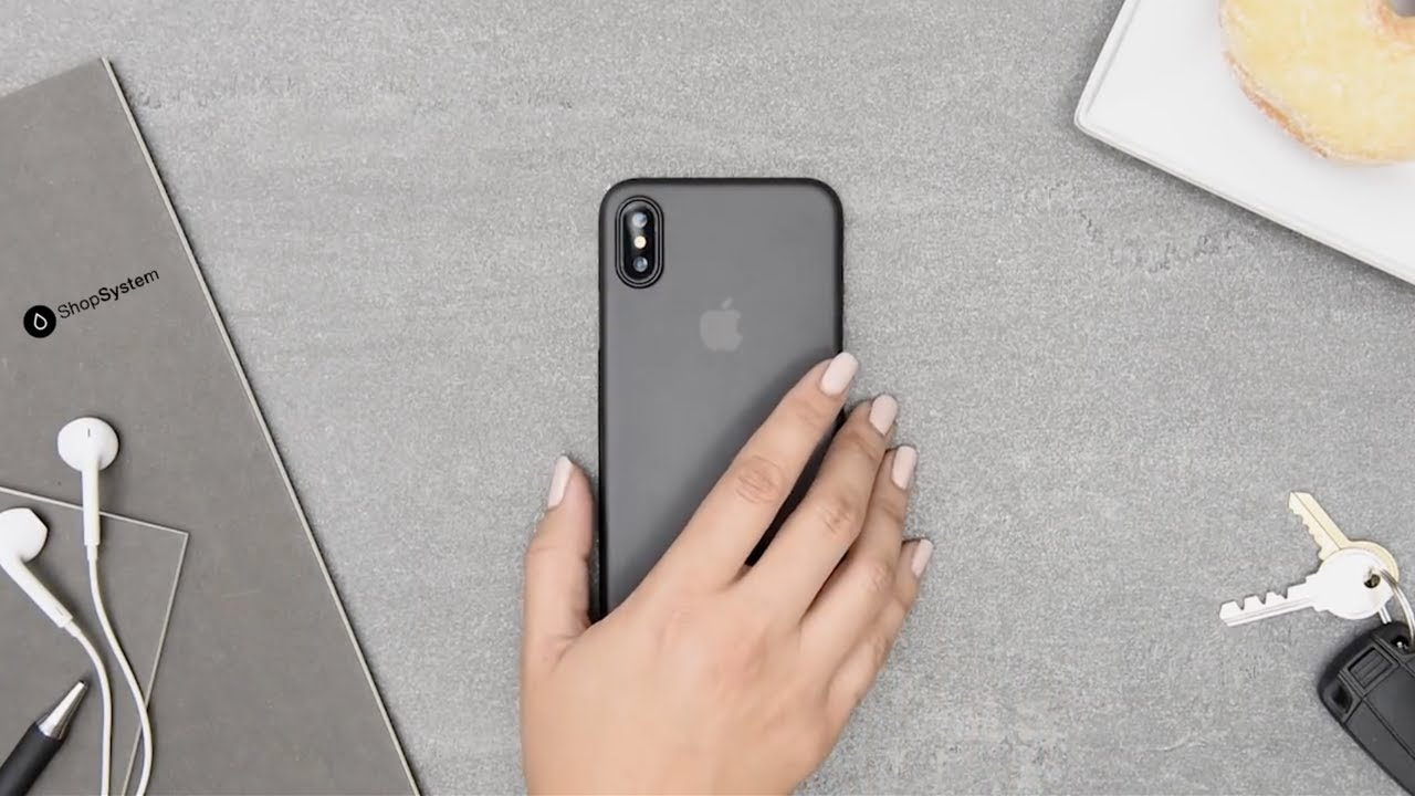 coque iphone x la plus fine