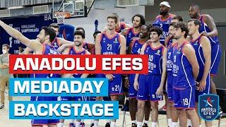 Anadolu Efes Media Day Backstage