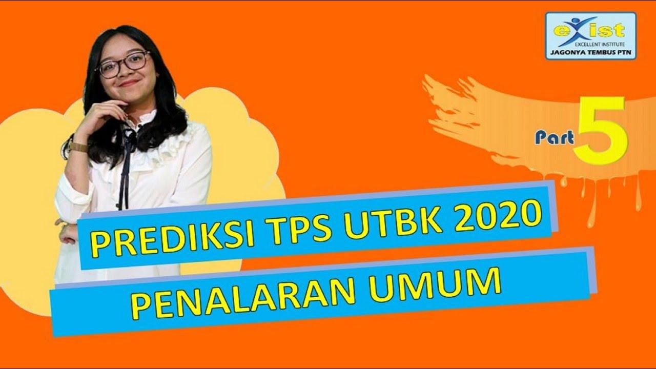 Prediksi Soal TPS UTBK 2020 Penalaran umum (Matematika ...
