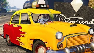 I Drove The Slowest Taxi in The World - GTA Online Casino DLC
