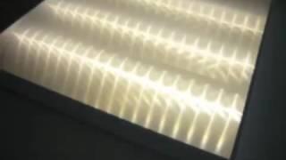 Видео потолочного накладного светодиодного светильника 595х595х50мм(, 2016-08-10T13:29:22.000Z)