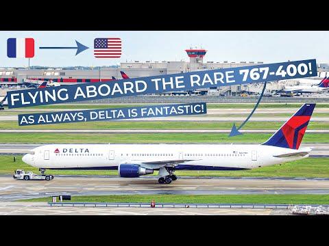 TRIPREPORT | Delta (ECONOMY) | Boeing 767-400 | Paris CDG - Atlanta