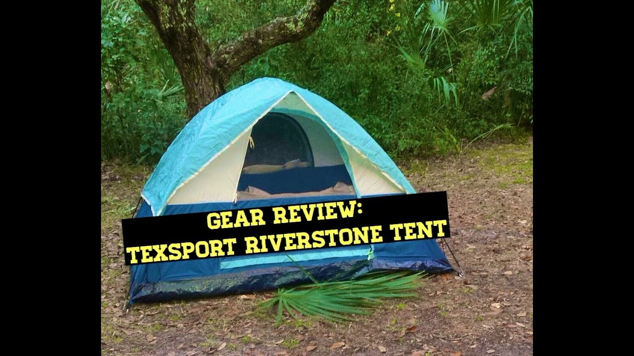 Gear Review Texsport Riverstone Dome Tent  sc 1 st  YouTube & Gear Review: Texsport Riverstone Dome Tent - YouTube