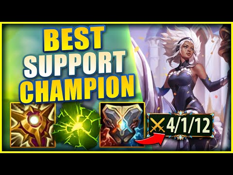 RELL IS BY FAR ONE OF THE BEST NEW SUPPORT CHAMPS RIOT HAS MADE (RELL GAMEPLAY) - League of Legends