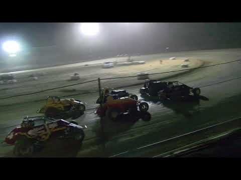 10-7-2017 Wingless Gasser Sprints Main Event