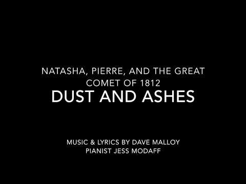 Dust and Ashes from Natasha, Pierre, and the Great Comet of 1812 - Piano Accompaniment