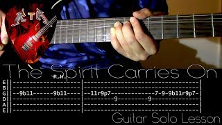 The Spirit Carries On Guitar Solo Lesson - Dream Theater (with tabs)