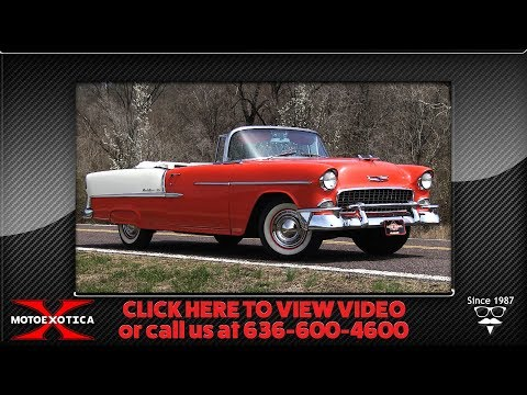 1955 Chevrolet BelAir Convertible || For Sale
