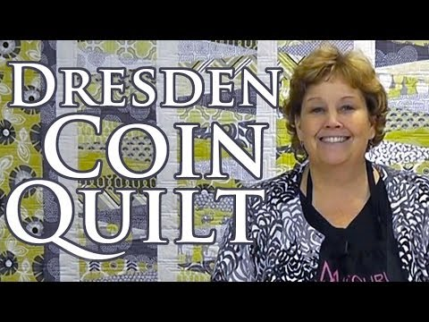 Dresden Coin Quilt Quilting With Layer Cakes 10in
