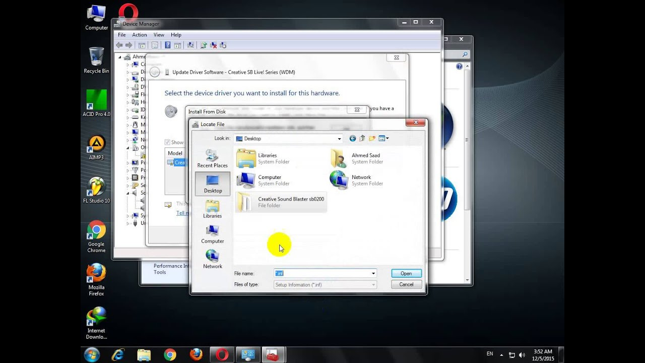 Creative sb live 5.1 драйвер для windows 7