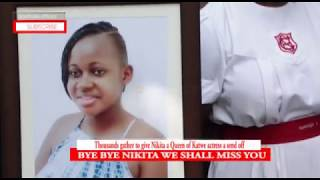 Disney Star Nikita Pearl Waligwa Laid To Rest. Her Class Mates And Relatives Have Been Left In Tears