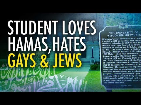 Pro-Palestine Student Loves Hamas, Hates Jews And Gays | Campus Unmasked