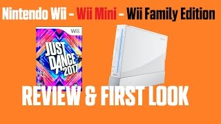 Review y primera vez en Just Dance 2017 Wii