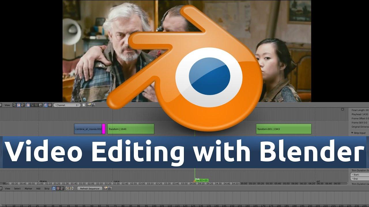 2 Blender Video Editing Importing Video