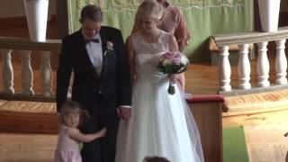 You raise me up - Groom surprises bride with trombone solo