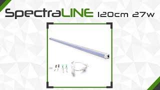 SpectraLINE 120cm 27W - Katalógový list BloomLED