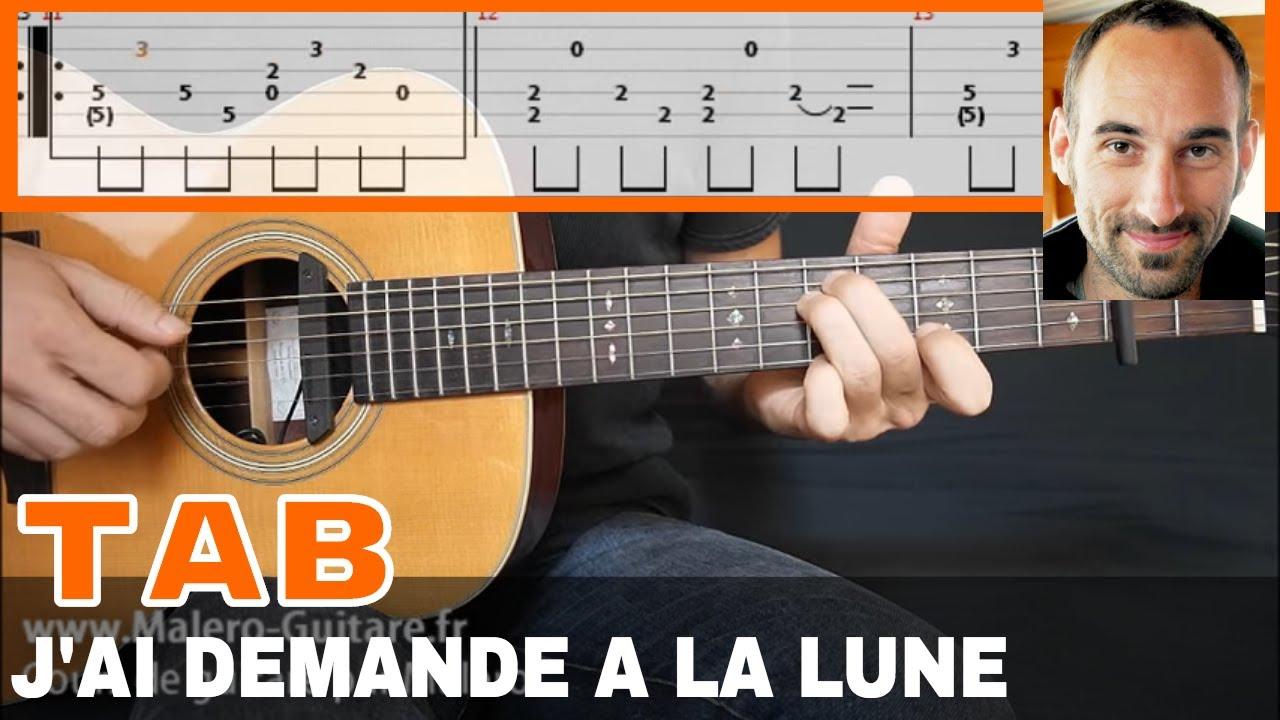 guitare acoustique tablature sympa