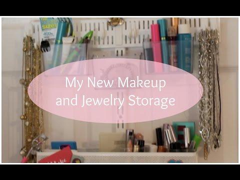 My New Makeup and Jewelry Storage