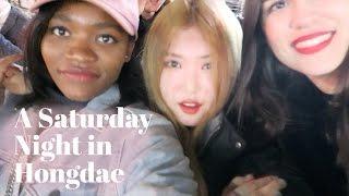 A Night Out in Hongdae | VLOG #5
