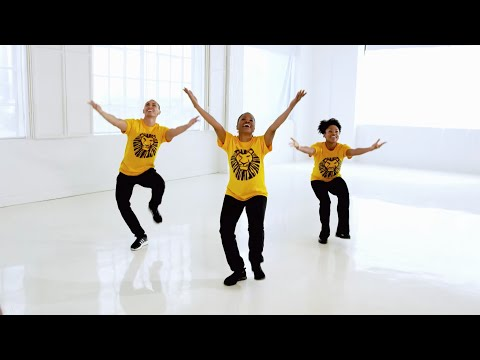 THE LION KING Dance Tutorial: Get Up And Go