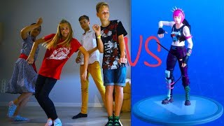 FORTNITE DANCE CHALLENGE! In Real Life ...