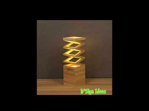 33 Inspiring DIY Wooden Lamps Decorating Ideas
