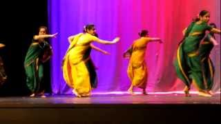 Live India Dance with Hindi Music song at Northeastern University in Boston (Part2/3)