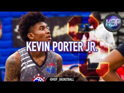 Kevin Porter Jr. is a USC Trojan!!! IMPRESSIVE PANGOS All-American PERFORMANCE