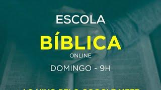 Escola Dominical  - 18/04/2021