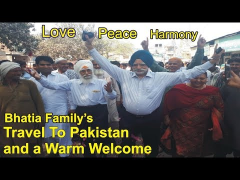 Singh's Travel to Pakistan and Warm Welcome