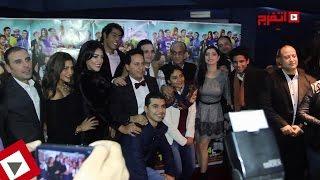 أبطال «أوشن 14» يحتفلون بالعرض الخاص بحضور السبكي وأشرف عبد الباقي (اتفرج)