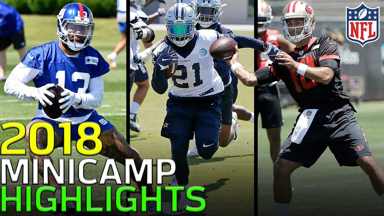 2018 Minicamp Highlights: Odell, Wentz, Mahomes, Luck,  & More! | NFL