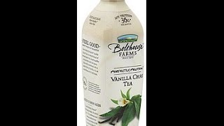 Bolthouse Farms:Vanilla Chai Tea.