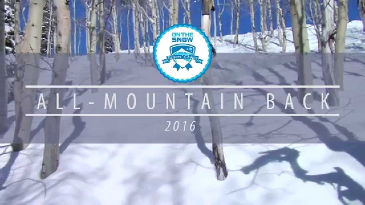 OnTheSnow Editors' Choice Skis: 2015/2016 Women's All-Mountain Back