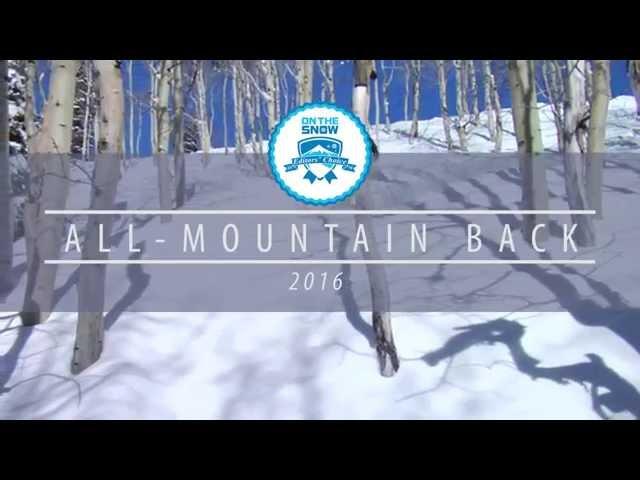 OnTheSnow Editors' Choice Skis: 2015/2016 Women's All-Mountain Back