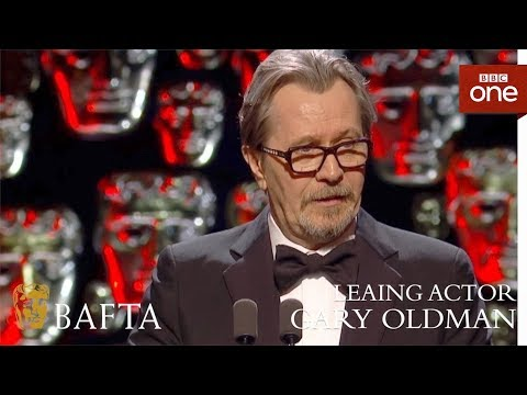 Gary Oldman wins Leading Actor BAFTA  The British Academy Film Awards: 2018  BBC One