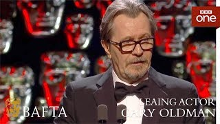 Gary Oldman wins Leading Actor BAFTA - The British Academy Film Awards: 2018 - BBC One