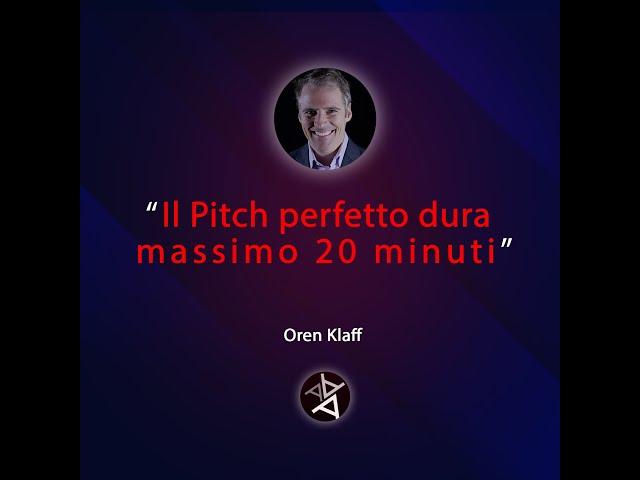 Oren Klaff:  3 step per una presentazione di vendita perfetta