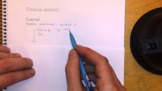 Fysik 1 Elektrisk potential
