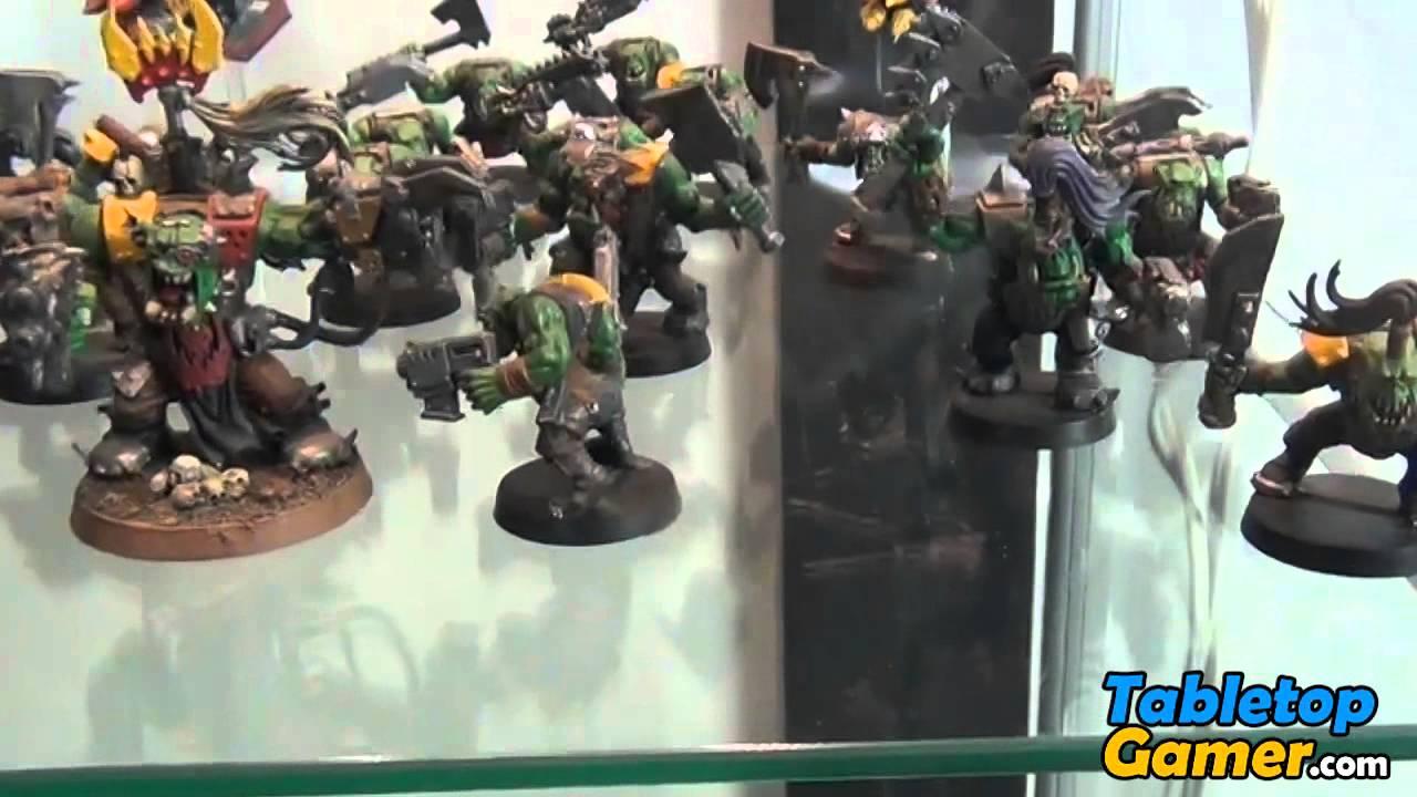 Miniatures Display Case - YouTube