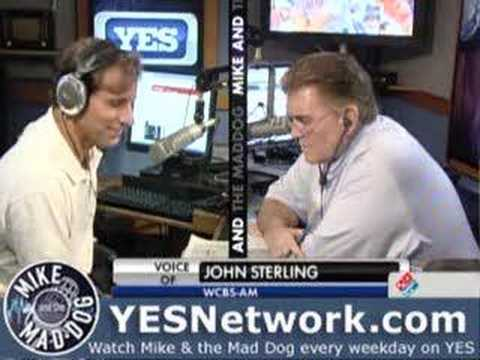 Suzyn Waldman & John Sterling, Mike and the Mad Dog, 6/18/08